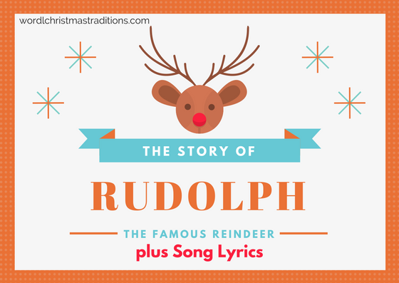 the story of rudolph and song lyrics rudolf the red nosed reindeer