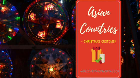 asian countries Christmas traditions